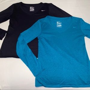 Nike Dri-Fit long sleeves (SELLING TOGETHER)